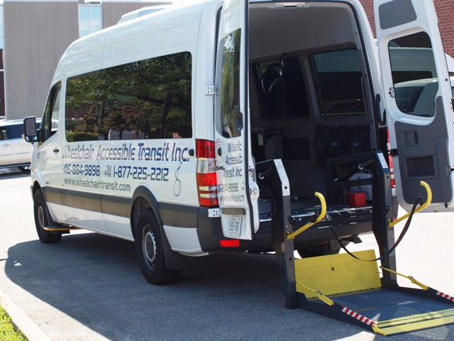 Our large accessible vans are the ideal choice for travelers in moderate sized groups. Accomodating a number of wheelchairs and walk-ons, these spacious vehicles