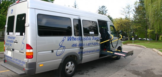 Wheelchair Charter bus